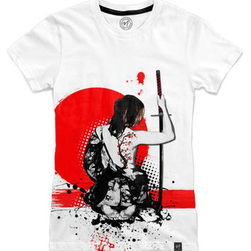Trash Polka - Female Samurai Women's T-Shirts by Nicklas Gustafsson | Nuvango