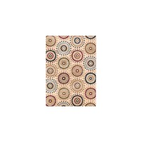 Well Woven Barclay Orchid Ivory Fields Dots Area Rug