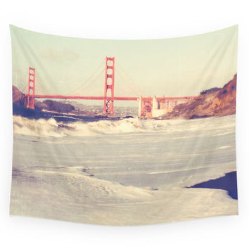 Society6 Golden Gate Bridge San Francisco Photogr Wall Tapestry