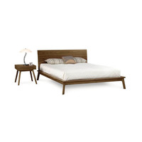 Squared Out Bedframe with Headboard - 40""
