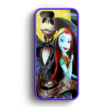 Jack And Sally In The Wind iPhone Case For iPhone SE, 5s, 5c, 4