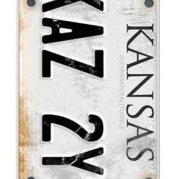 SHELI Supernatural License Plate KANSAS KAZ 2Y5 case cover for iphone 5s 6 6s 6plus 7 7plus Samsung galaxys5 s6 s7 edge