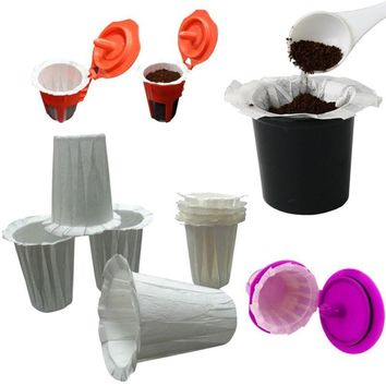 10/20/30pcs Disposable Paper Coffee Filter Cup