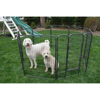 Heavy Duty Metal Tube pen Pet Dog Exercise and Training Playpen - 32 Inch Height