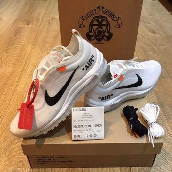 DCCKIN2 Nike Off White Air Max 97 OG 'THE TEN' Virgil Abloh Size UK 9 / US 10 *IN HAND*