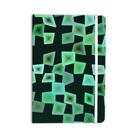 "No ""Seaglass On The Shore"" Green Digital Everything Notebook"
