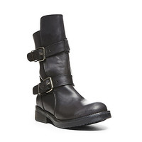Steve Madden - CAVEAT BLACK LEATHER