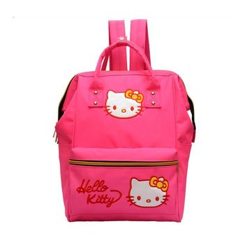Hello Kitty Kids Children Backpacks School Bag Cartoon School Backpack For Girls Kids Tote Bags Bolsa Escolar Infantil