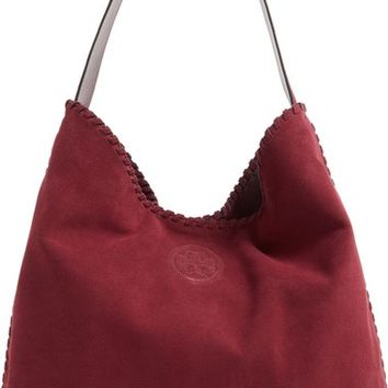 Tory Burch 'Marion' Suede Hobo | Nordstrom