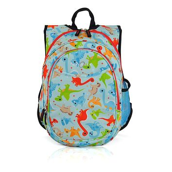 Obersee Kids Pre-School All-In-One Backpack With Cooler - Dinosaur