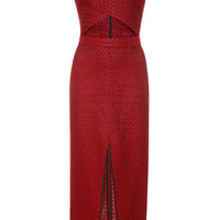 Red Dress by Kalmanovich - Moda Operandi