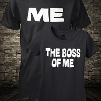 Husband and Wife Shirts Me and The Boss Of Me Funny Marriage Shirts Guys Girls Mens Ladies Women Small Medium Large Xlarge 2XL 3XL 4XL