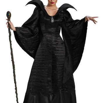 Womens Deluxe Maleficent Christening Gown