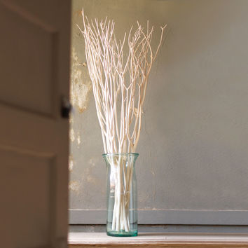 White As Snow Willow Branches - Set of 3