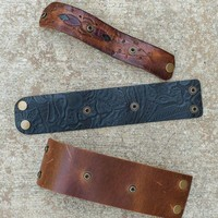 Make Your Own Leather Cuff - Bands