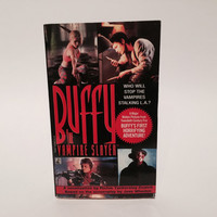 Buffy the Vampire Slayer 1992 Film Novelization Paperback