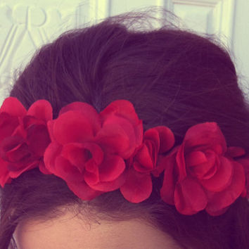 Red Rose Crown