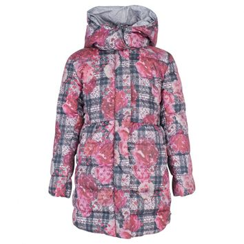 Fantasy Print Purple Coat