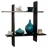 DanyaB Asymmetric Floating Wall Shelf