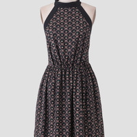 Black Canyon Printed Dress By Tulle