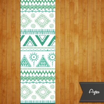 Tribal Aztec Yoga Mat - Namaspace Yoga Mats - Beautiful and Inspirational Mat Designs