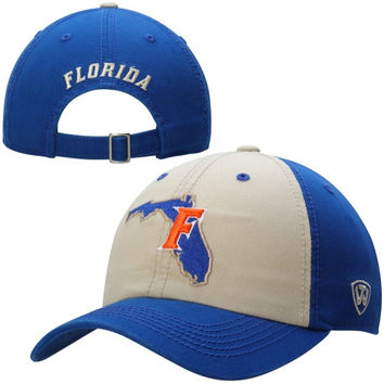 Florida Gators Top of the World Statesman Two-Tone Adjustable Hat – Royal Blue