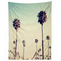 Bree Madden California Palm Trees Tapestry