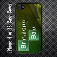 Breaking Bad Logo Custom iPhone 4 or iPhone 4S Case