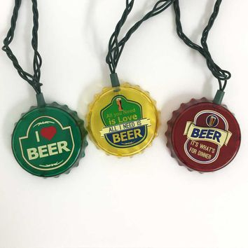 Beer Cap Party String Lights