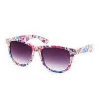 Colorful Floral Sunglasses: Charlotte Russe