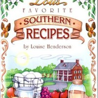 Cook Book Aunt Lou's Southern Recipes Case Pack 144