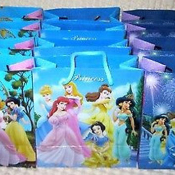 PRINCESS CINDERELLA GOODIE BAGS PARTY FAVOR GIFT BAGS 12 pieces by Disney-New!