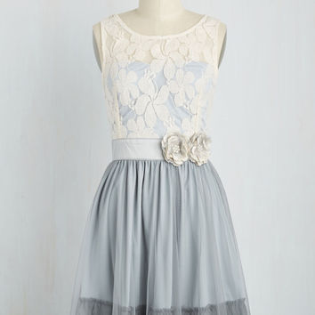 Ryu Home Sweet Scone Dress in Earl Grey | Mod Retro Vintage Dresses | ModCloth.com