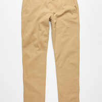 Vans Excerpt Mens Chino Pants Brown  In Sizes