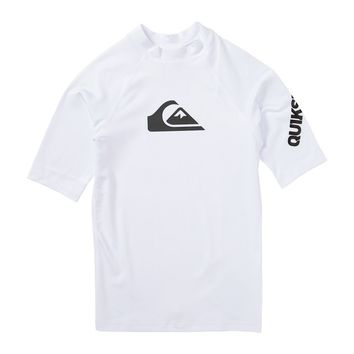 Quiksilver - Boys All Time Short Sleeve Rashguard