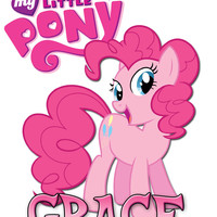 Personalized Custom NAME T-shirt My Little Pony #2