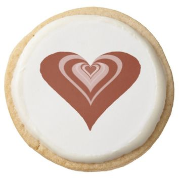Red Heart Shortbread Cookies