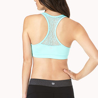 Medium Impact - Lace Trimmed Sports Bra