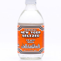 New York Seltzer Peach Soda