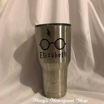 Harry Potter  Stainless Steel Tumbler. Perfect gift for Harry Potter Fans!