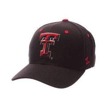 competitive price 7e00f 253d7 Licensed Texas Tech Red Raiders NCAA DH Size 7 1 4 Fitted Hat Cap by