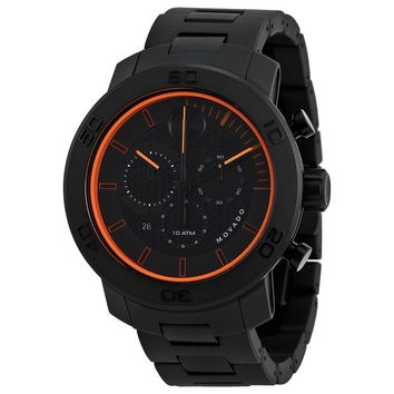 Movado Bold Black Ion-plated Titanium Mens Watch 3600190