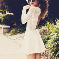 BOULEE AVERY WHITE LACE DRESS | Love Story Shop | Los Angeles Fashion Shop