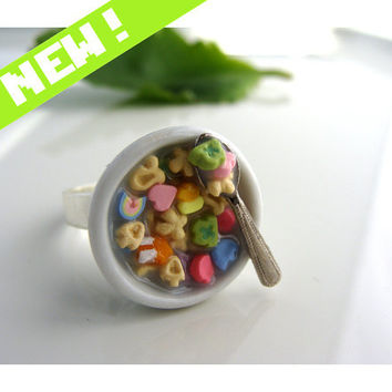 Lucky Charms Cereal Ring by CatrinasToybox on Etsy