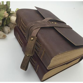 Handmade Vintage Leather Diary Journal