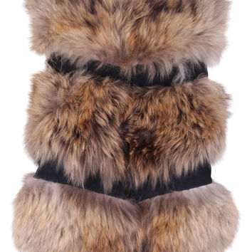 Carnas Brown Fur Gilet