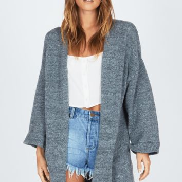 AMUSE SOCIETY | Smoke Signal Cardigan - Heather Grey