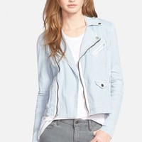 Women's Joe's 'Collector's Edition' Moto Peplum Jacket,