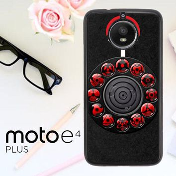 Sharingan Circle And Rinnegan Z2159 Motorola Moto E4 Plus Case