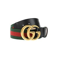 Gucci Belt MADE IN ITALY Woman Green 409416HE21T 8476